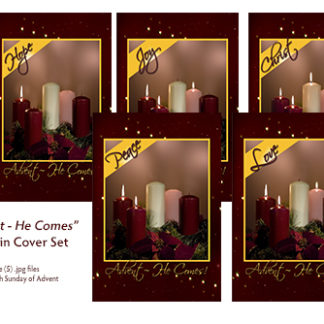 Advent - He Comes! Bulletin Cover Set Product Image