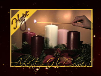 Advent - He Comes! Worship Video Product Image