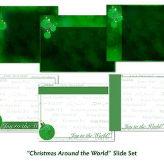 Christmas Around the World Slide Set Product Image