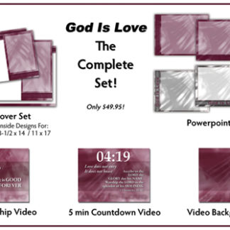 God Is Love Complete Set Product Image