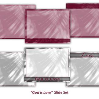 God Is Love Slide Set Product Image