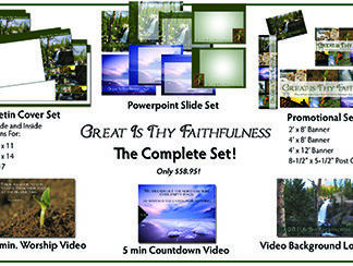 Great Is Thy Faithfulness Complete Set Product Image