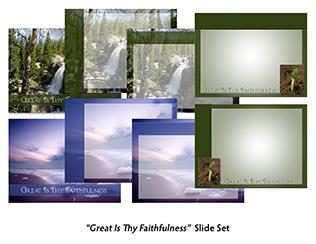 Great Is Thy Faithfulness Slide Set Product Image