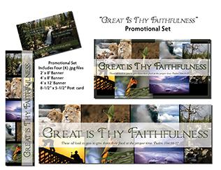 Great Is Thy Faithfulness Promotional Set Product Image