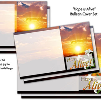 Hope Is Alive Bulletin Cover Set Product Image