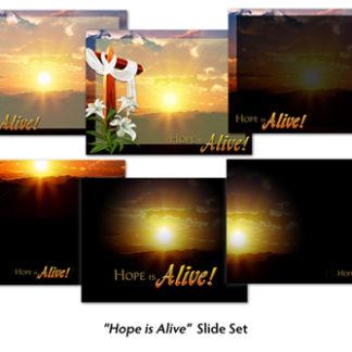 Hope Is Alive Slide Set Product Image