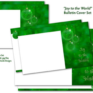 Christmas Around the World Bulletin Cover Set Product Image