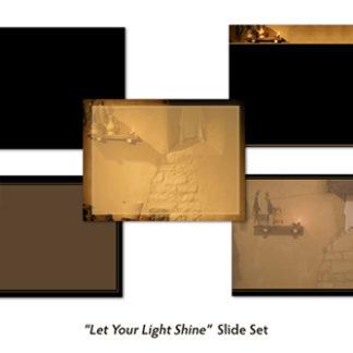 Let Your Light Shine Slide Set Product Image