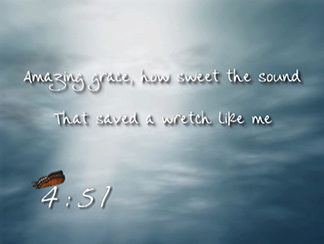 Amazing Grace Countdown Video Product Image