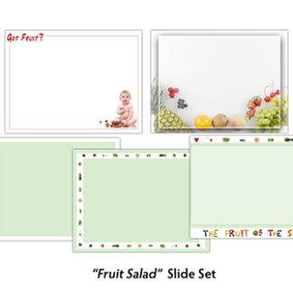 Fruit Salad Slide Set Product Image