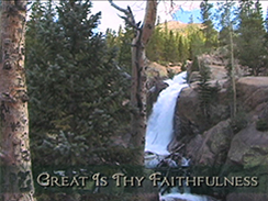 Great Is Thy Faithfulness Video Loop Product Image