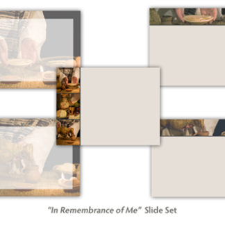 In Remembrance of Me Slide Set Product Image