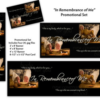 In Remembrance of Me Promotional Set Product Image