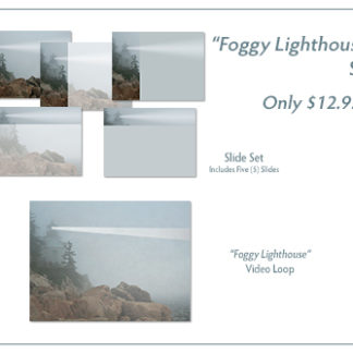 Foggy Lighthouse Video/Graphic Bundle Product Image