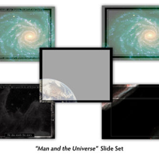 Man and the Universe Slide Set Product Image