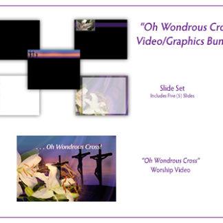 Oh Wondrous Cross Video_Graphics Bundle Product Image