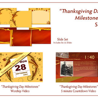 Thanksgiving Day Milestones Video_Graphic Bundle Product Image