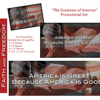 The Greatness of America Promotional Set Product Image