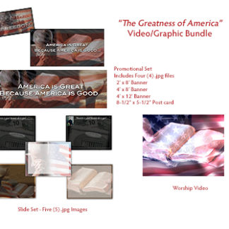 The Greatness of America Video_Graphics Bundle Product Image