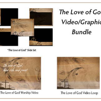 The Love of God Video_Graphic Bundle Product Image