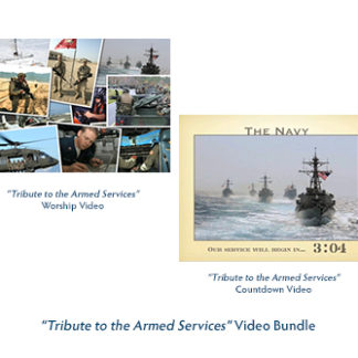 Tribute to the Armed Services Video Bundle Product Image