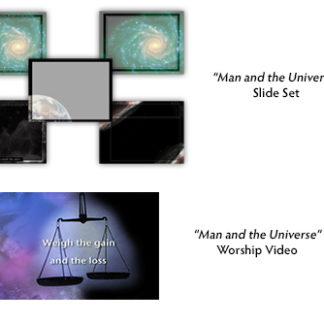 Man and the Universe Video_Graphic Bundle Product Image