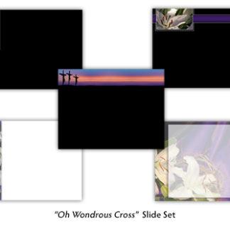 Oh Wondrous Cross Slide Set Product Image