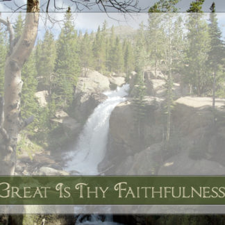 Great Is Thy Faithfulness Promotional Slide Preview
